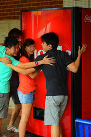 Free Coke Vending Machine Classy CocaCola Vending Machines Give You A Free Coke In Return For A Hug