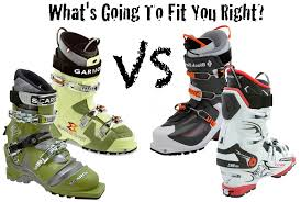Telemark Boot Size Chart A Quick Ski Boot Fit Guide For Alpine Touring And Telemark