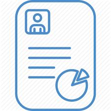 Resume Chart Mobile Shop Idea Concept Line By Ibrandify