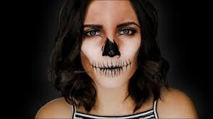 easy skull makeup tutorial