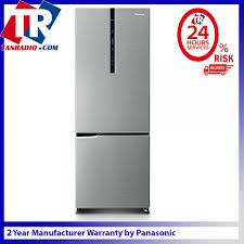 panasonic fridge econavi inverter 322l tempered glass shelves nr bv329xsmy refrigerators freezers large appliances