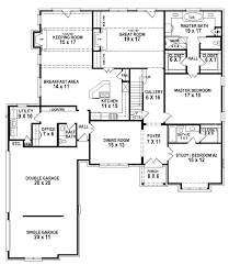 five bedroom ranch house plans 5 bedroom house plans floor plans for 5 bedroom homes floor