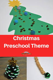 Christmas Tree In Chart Paper Preschool Christmas Theme For Your Classroom