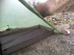 here are a couple of pictures of a bathtub groundsheet i made using the 7d sil pu fabric that rockywoods s it s basically a copy of an mld bathtub