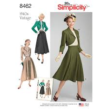 Vintage Simplicity Patterns Mesmerizing Simplicity Pattern 48 Misses' Vintage Blouse Skirt And Lined Bolero