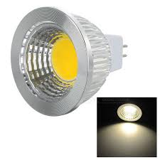 mr16 gu5 3 5w 400lm 3500k warm white light cob led lamp ac dc 12v