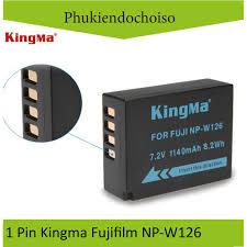 Pin Kingma cho Fujifilm NP-W126 + Hộp đựng Pin, Thẻ nhớ chính hãng 200,555đ