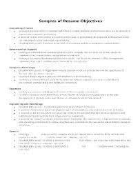 Entry Level Objectives For Resume Summary Examples Y Engineer Extraordinary Resume Summary Examples Entry Level