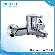 boou s wall mounted brass bathtub faucet with single handle b8217 3
