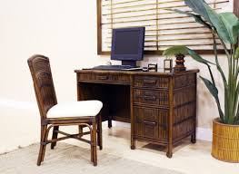 rattan office chair. polynesian wicker desk and chair by hospitality rattan office