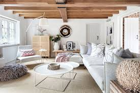 modern country furniture. Contrasts Of Styles And Textures Are Everywhere: Rough Wooden Beams Brick Walls Perfectly Coexist With Elegant Modern Furniture, Natural Materials Country Furniture
