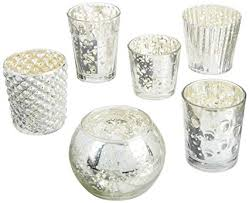 mercury candle holders. Plain Candle Luna Bazaar Best Of Vintage Mercury Glass Candle Holders Silver Set 6 To