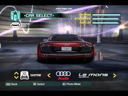 Need For Speed Carbon All Cars And Bonus Cars Youtube