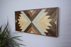 wood wall art contemporary geometric wood wall hanging 2 ft x 1 ft wall on southwestern wood wall art with our wood wall art hangings sit flush against the wall via a gallery