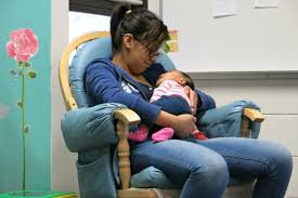 Working with teen mothers