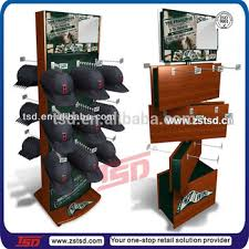 Wooden Hat Display Stand Inspiration Tsdw32 High Quality Floor Display Stand With HooksWood Hat