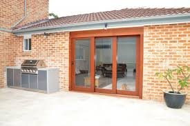 aluminum is a strong choice for resilient and durable external doors and our bona vista range includes double weather seals to all frames and panels
