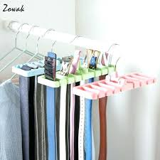 tie organizer closet belt organizer storage rack tie belt organizer space saver rotating scarf ties hanger