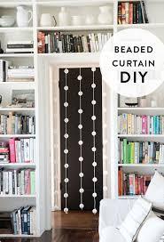 beaded curtain diy
