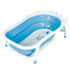 baby trend karibu folding bath tub