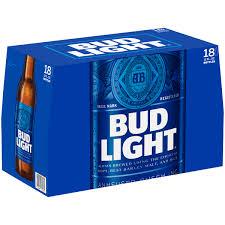 How Much Is A 18 Pack Of Bud Light Bud Light Beer 18 Pack Beer 12 Fl Oz Bottles Walmart Com