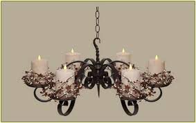 hanging candle chandelier non electric home design ideas regarding prepare 1
