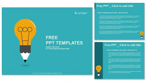 template powerpoint free download education symbol bulb powerpoint templates