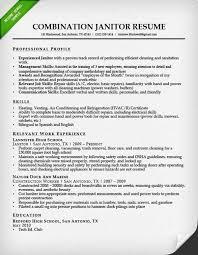 Custodian Resume Samples Inspiration Free Download Sample Custodian Resume Template Document And Letter