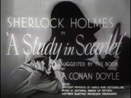 The Scarlet Letter Wikipedia The Free Encyclopedia Sherlock Holmes A Study In Scarlet 1933 Thriller Youtube