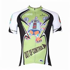 Paladin Cycling Jersey Size Chart Amazon Com Paladinsport Mens Robot Green Short Sleeve