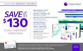 coopervision contact lens offer