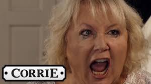 Coronation Street - Eileen Kicks Phelan Out of Her House - YouTube