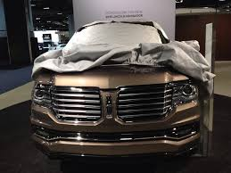 2015 Lincoln Navigator Teased Ahead Of Tomorrow's Debut (And ...