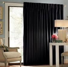 White And Black Curtains For Living Room Decorating Thermal White Patio Door Curtain Panels With Black