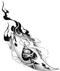 Tetování Joker Karty