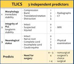Spine Levels Chart The Radiology Assistant Spine Injury Tlics Classification