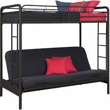 Bunk Beds Bedroom Fancy Twin Over Futon Bunk Bed For Kids And Teens Bedroom