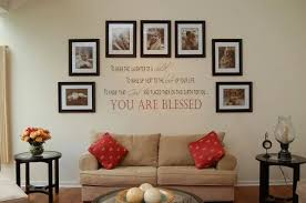 ... Leenthegraphicsqueen 11 DIY Wall Quote Accent Inspirations That Will  Beautify Your Home - You Are Blessed