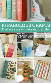 Mothers Day DIY Gift Ideas- Fun and useful gifts that are sure to make mom