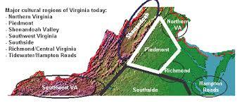 Regions Of Virginia