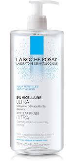la roche posay micellar cleansing water and makeup remover for sensitive skin
