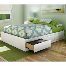 South Shore Step One Full/Double Storage Platform Bed & Reviews | Wayfair