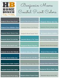 Benjamin Moore Color Palette Benjamin Moore Coastal Teal