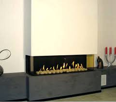 3 sided gas fireplace modern s clear ts fire design