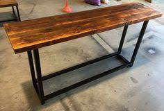 I Recycled Oregon Industrial Hall Console  Table Made By  Recycledtimberfurnitureozcom