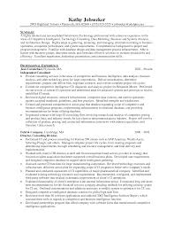 Strategy Consultant Resume  management consultant resume