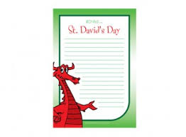 template of a dragon st davids day lined writing paper template dragon ichild