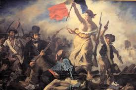 historical events that shaped paris liberty leading the people by eugene delacroix xa9 mookiefl flickr