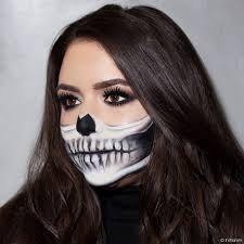 makeup tutorial the half skeleton