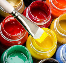 a fine artist may use a variety of paints to create a piece